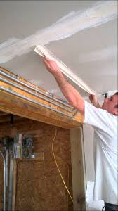 how to mud and tape drywall ceilings step 1 applying taping