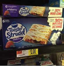 Pillsbury Toaster Strudel Flavors Toaster Strudels Only 1 50 At Walmart