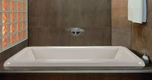 Bathtub The Front Bottoms Alcove Tub Bathtub With Skirt U0026 Flange For 3 Wall Alcove