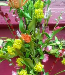 vibrant floral cross wreath bonnie harms designs