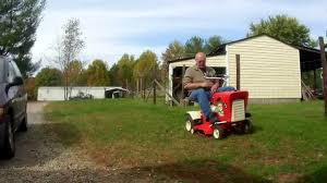 antique vintage toro riding mower restored for sale youtube