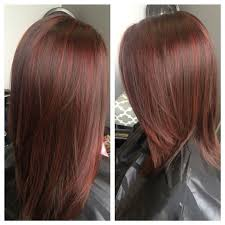 foil highlights for brown hair 60 brilliant brown hair with red highlights