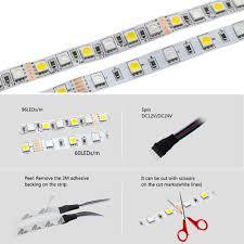 aliexpress com buy led strip 5050 rgbw waterproof non