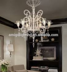 Wire A Chandelier 2017 New Six Heads White Contemporary Hanging Wire Chandelier