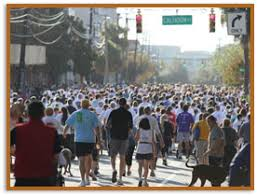 the race the turkey day run and gobble wobble