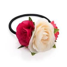 flower hair band flower hair bands womens bobbles hair elastic