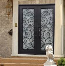 front doors awesome front door wrought iron 28 front door