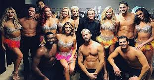 dwts light up the night tour the cast and crew of dwts live were caught in a harrowing multi