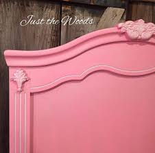 Paint A Headboard by Pretty In Pink Painted Headboard Using A Paint Sprayer