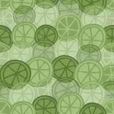 seamless lemon pattern seamless green hand drawn lemon pattern background vector premium