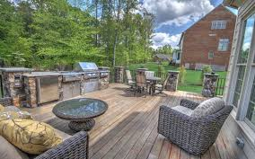 Outdoor Kitchen Construction Outdoor Cooking And Dining Season Is Here James River