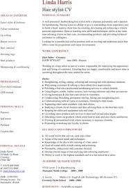 Hair Stylist Resume Template Download Hairdressing Cv Template For Free Formtemplate