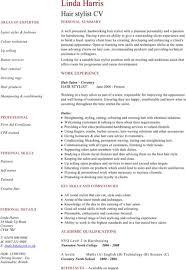 Hairdresser Resume Download Hairdressing Cv Template For Free Formtemplate