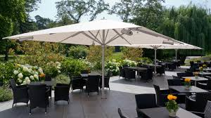 Square Patio Umbrellas Patio Umbrella Big Ben Caravita Commercial Patio Umbrellas
