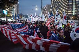 Seoul Flag South Korea U0027s Far Right Gives Trump The Warmest Welcome Wppb