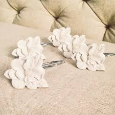 Lauren Conrad Home Decor Lc Lauren Conrad For Kohl U0027s Flower Shower Curtain Hooks Home