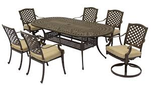 Cast Aluminum Patio Table And Chairs by Furniture Cast Aluminum Outdoor Furniture Durability With