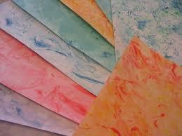 how to â u20acœtie dyeâ u20ac paper shaving cream card stock and craft
