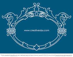 beautiful ornamental design and frame free vector