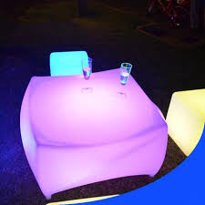 Plastic Bar Table Best One Leg Round Plastic Led Coffee Table For Sale U2013 Lu Qing Wen