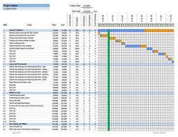 Construction Schedule Excel Template construction schedule excel template free