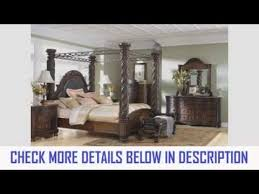Ashley North Shore Canopy Bed Set SALE YouTube - Amazing north shore bedroom set property