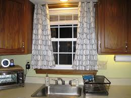 best kitchen curtain ideas window treatment ideas for kitchen bay