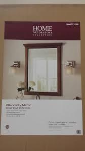 amazon com cedar cove 35 in l x 28 in w framed wall mirror in