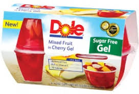 dole fruit bowls hot 1 1 dole fruit bowls in sugar free gel coupon