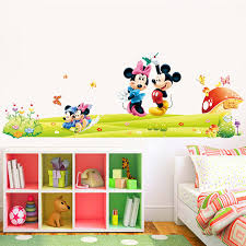 chambre enfant mickey minnie mickey mouse stickers muraux enfants chambre