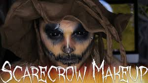 scarecrow halloween makeup tutorial 31 days of halloween youtube