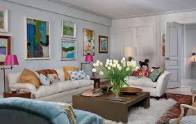 attractive interior art designer apartment living room design with
