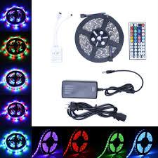 5050 smd 300 led strip light rgb 5m rgb 300 led strip light 3528 5050 24keys remote 12v power full