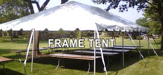tent rental chicago frame tent rental in chicago and suburbs