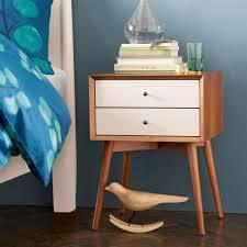 nightstand beautiful mid century modern nightstand amos designer