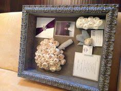 wedding flowers keepsake this contemporary shadowbox looks amazing with a pop of bright
