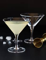 martini fancy elderflower martini recipe garnish with lemon