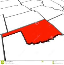 Outline Of United States Map by United States Oklahoma Map Outline Stock Photos Image 11105983