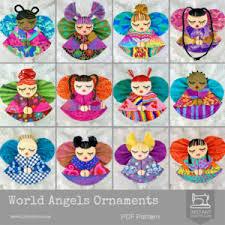 world ornaments la todera