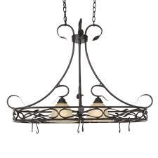 elegant designs 2 light brushed nickel accents kitchen pot