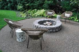 Firepit Base Unique Pit Gravel Base A Landscape That Encourages The Eye To