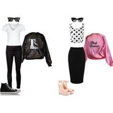 Halloween Costumes Pink Ladies Pink Ladies Greasers Greaser Pink Lady Lightning
