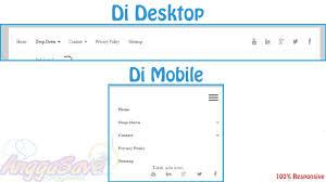 cara membuat menu dropdown keren membuat menu navigasi sosial media css responsive dropdown di
