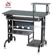 modern black computer desk modern black metal office computer desk buy computer desk metal