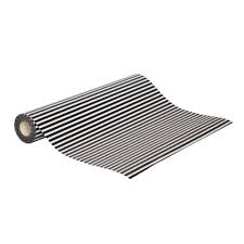 black and white striped wrapping paper black and white stylish wrapping paper roll x 60m qis