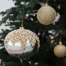 christmas baubles popsugar home uk