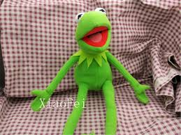 Barney Through The Years Muppets by Kermit Sesame Street Muppets Kermit The Frog Toy Plush 18