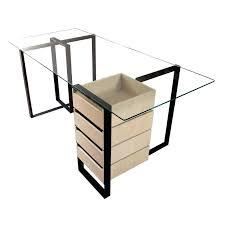 plateau verre tremp bureau plaque de bureau en verre bureau plateau verre tremp severin with