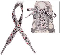 ribbon shoe laces diabetes awareness ribbon shoelaces the diabetes site