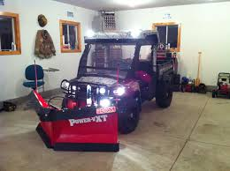 snow plow john deere gator forums